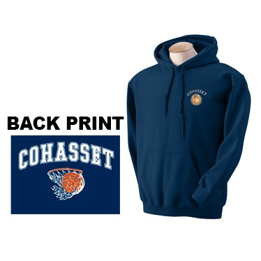 Cohasset Basketball Boosters Embroidery & Silkscreen