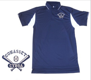 Cohasset Youth Baseball Old-School Logo