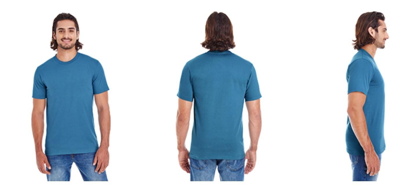 American Apparel Unisex Organic Short-Sleeve Fine Jersey T-Shirt 2001OR (ORGANIC)