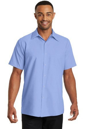 Red Kap® - Short Sleeve Pocketless Gripper Shirt