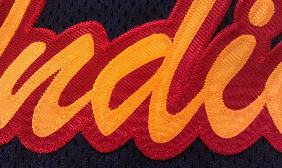 Custom Tackle Twill Close-Up, Indians