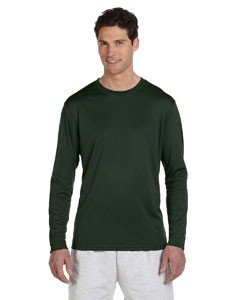 Champion Double Dry® 4.1 oz. Long-Sleeve Interlock T-Shirt
