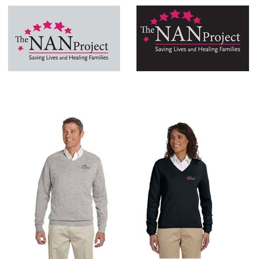 The NAN Project Devon & Jones V-Neck Sweater