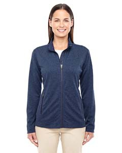 Devon & Jones Ladies' Fairfield Herringbone Full-Zip Jacket