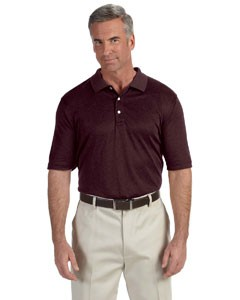 Devon & Jones Pima-Tech™ Men's Jet Pique Heather Polo