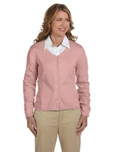 Devon & Jones Ladies' Stretch Everyday Cardigan Sweater- CLEARANCE