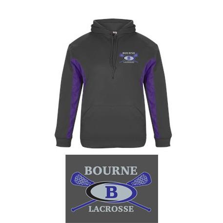 Bourne Lacrosse Badger Drive Hoodie
