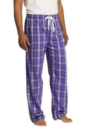 District® - Young Mens/Unisex Flannel Plaid Pant