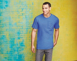 District® Young Mens Very Important Tee® with Pocket DT6000P