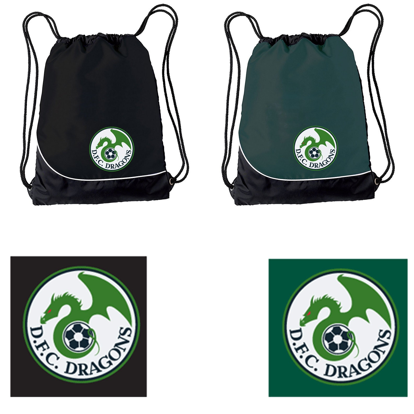 Duxbury Youth Soccer DFC Holloway Day-Pak Bag #229409