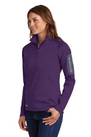Eddie Bauer® Ladies 1/2-Zip Performance Fleece Jacket EB235