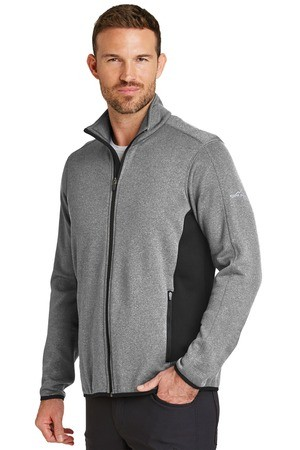 Eddie Bauer® Full-Zip Heather Stretch Fleece Jacket. EB238