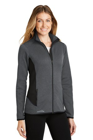 Eddie Bauer® Ladies Full-Zip Heather Stretch Fleece Jacket EB239