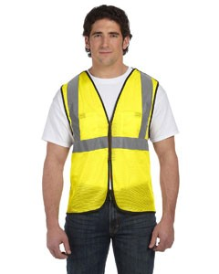 OccuNomix Value Mesh Five-Point Breakaway Vest, Class 2- CLEARANCE