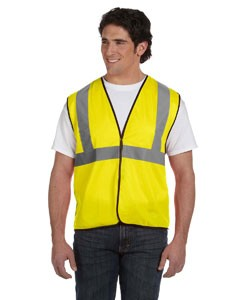OccuNomix Value Solid Vest, Class 2- CLEARANCE