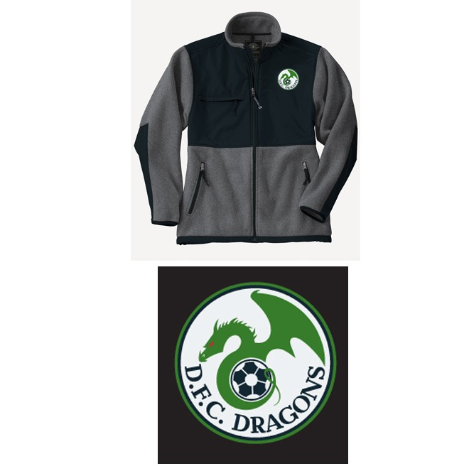Duxbury Youth Soccer DFC Charles River Evolux Fleece Jacket (Mens)
