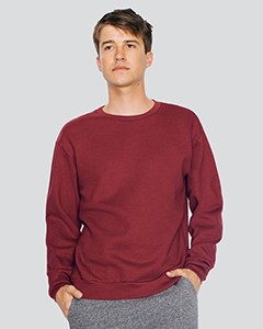 American Apparel Unisex Flex Fleece Drop Shoulder Pullover Crewneck F496