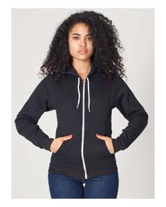 American Apparel Unisex Flex Fleece Zip Hoodie F497
