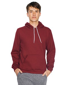 American Apparel Unisex Flex Fleece Drop Shoulder Pullover Hoodie F498