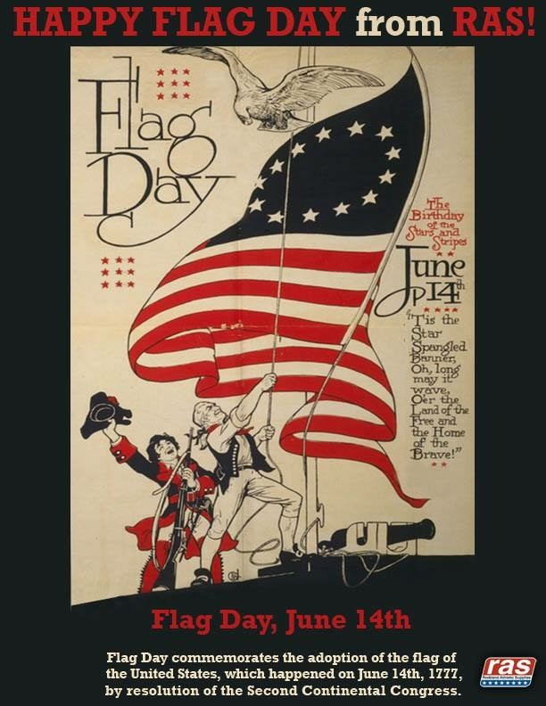 Flag Day Web Poster