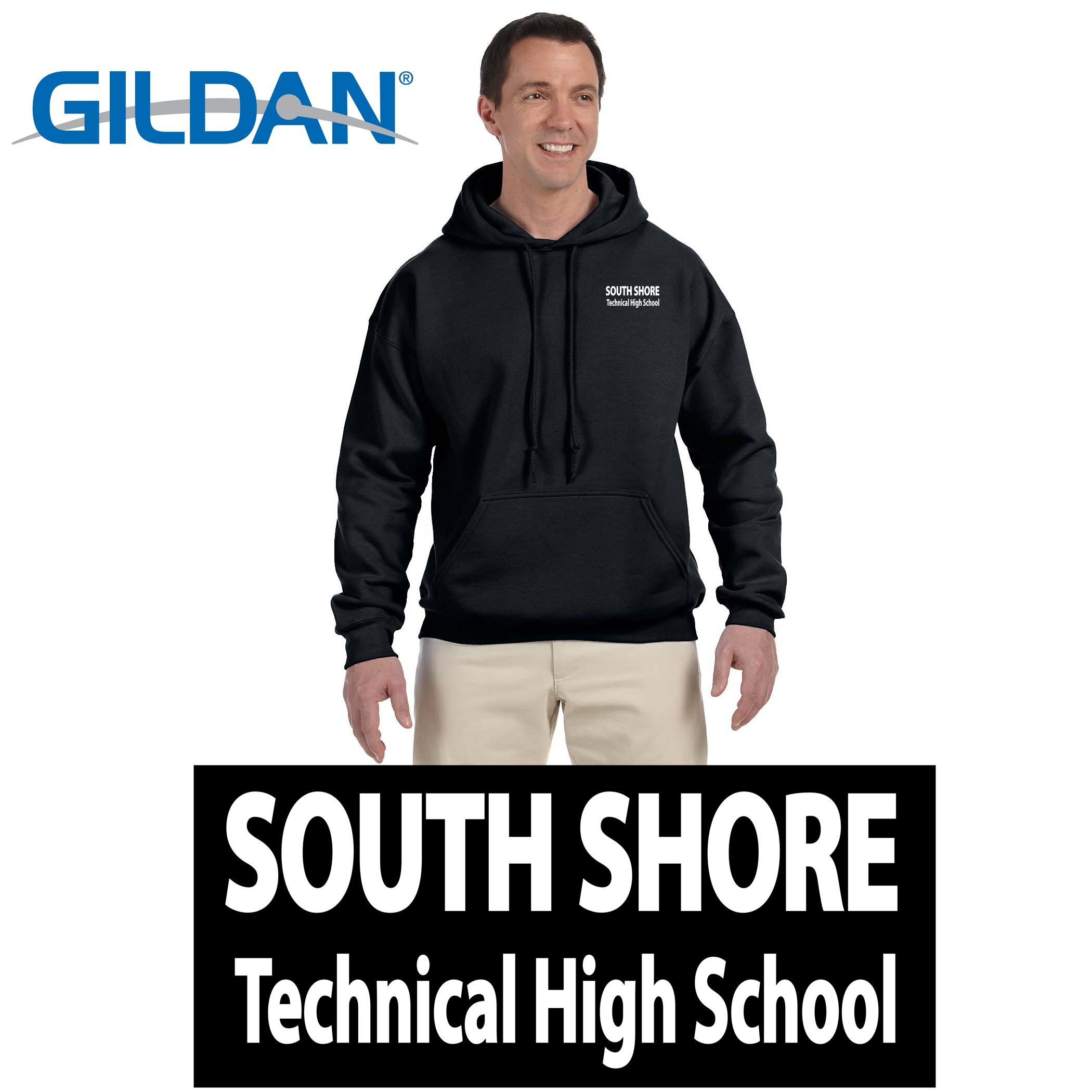 South Shore Technical High School Gildan Adult DryBlend® Adult 9 oz., 50/50 Hood