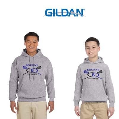 Bourne Lacrosse Gildan Heavy Blend™ 8 oz., 50/50 Hood