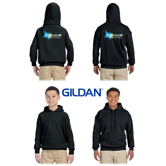 Xplosion Dance Center Gildan Brand Hooded Pullover Sweatshirt