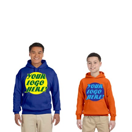 RAS PROMOTIONAL COLOR HOODED PULLOVER SWEATSHIRT, BULK ORDER- CALL, EMAIL OR REQUEST QUOTE FOR BEST PRICE!