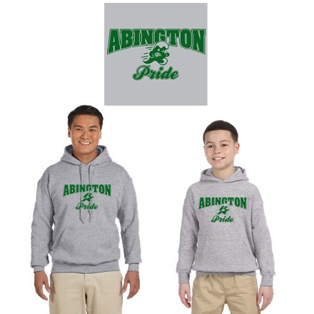 "Abington Town Apparel ""Abington Pride"" 50/50 Cotton HPO"