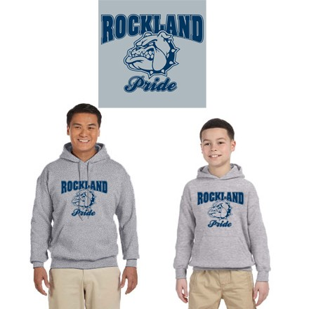 """Town Of Rockland """"Rockland Pride"""" 50/50 Cotton HPO"""