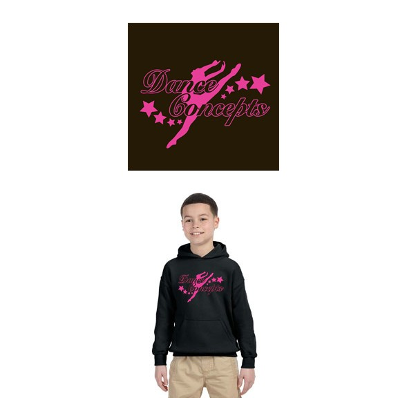 Dance Concepts Gildan HPO Sweatshirt, Youth Unisex