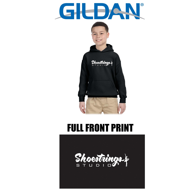 Shoestrings Studio Gildan Brand HPO 9.3oz DryBlend 50/50 Sweatshirt for Youth