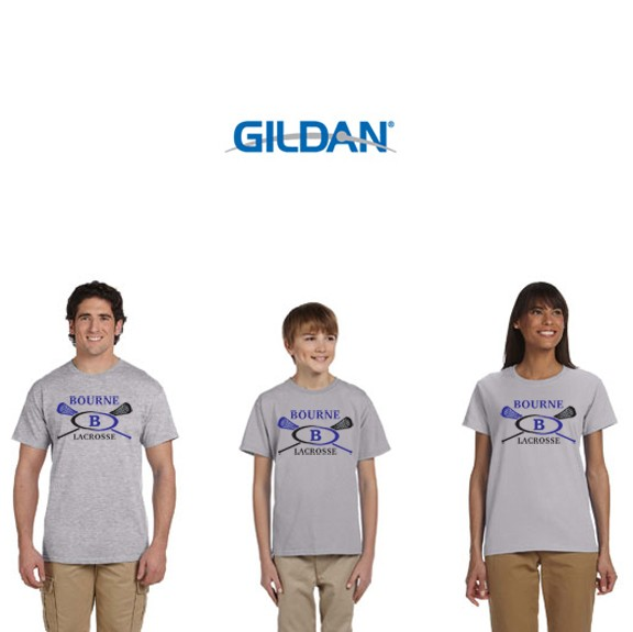 Bourne Lacrosse Gildan Ultra Cotton® 6 oz. T-Shirt
