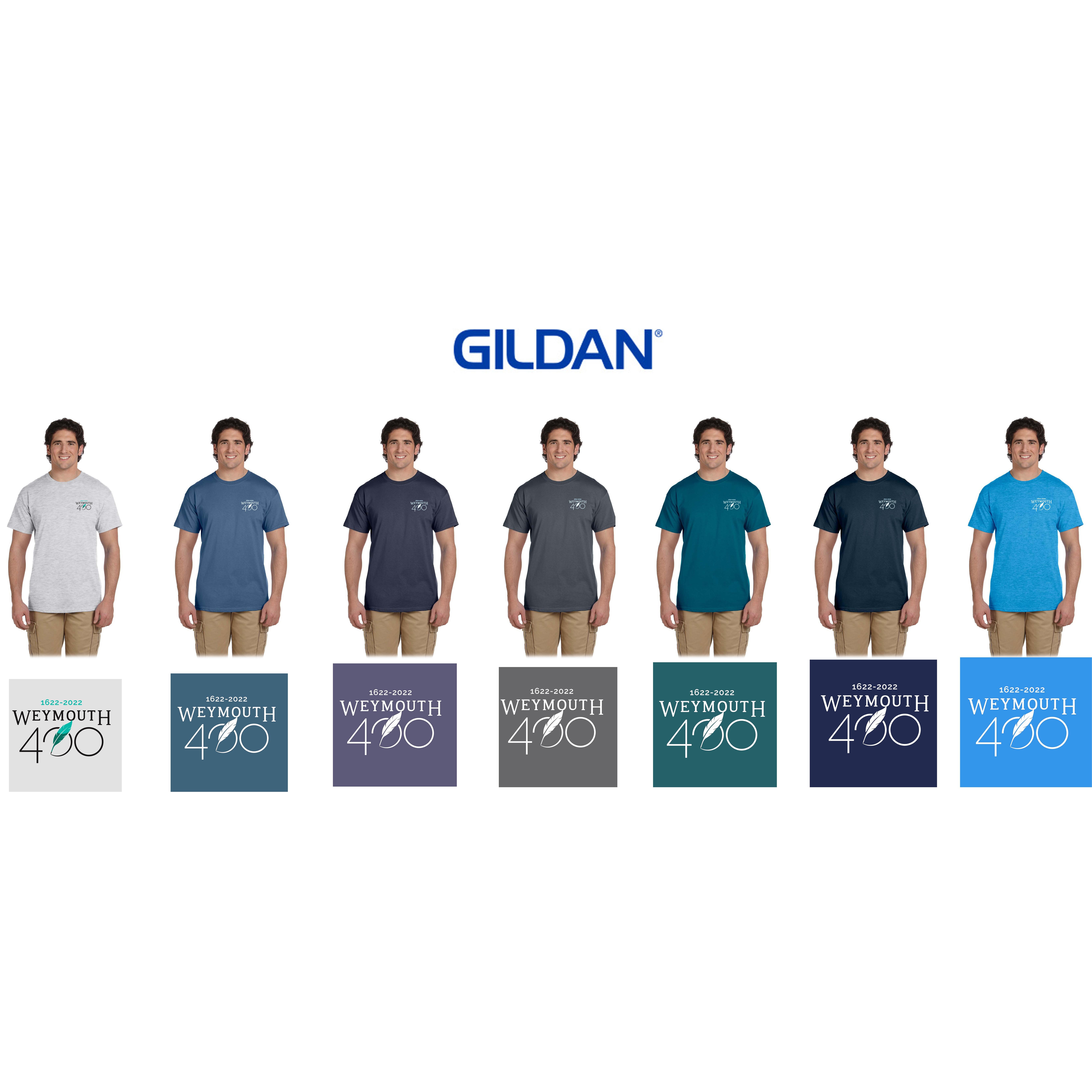 Weymouth 400 Gildan Adult Ultra Cotton® 6 oz. T-Shirt, Embroidered