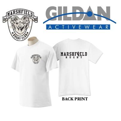 Marshfield Rugby Gildan Adult Ultra Cotton® 6 oz. T-Shirt