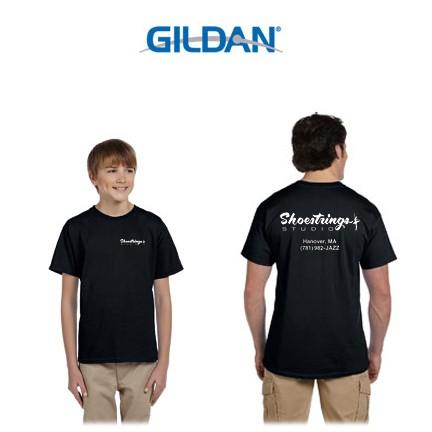 Shoestrings Studio Gildan Brand UltraCotton 6oz Short Sleeve Tee for Youth & Adult