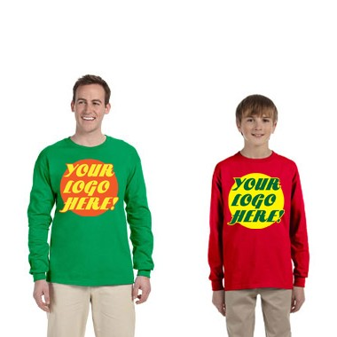 RAS PROMOTIONAL COLOR LONG SLEEVE TEE, BULK ORDER- CALL, EMAIL OR REQUEST QUOTE FOR BEST PRICE!