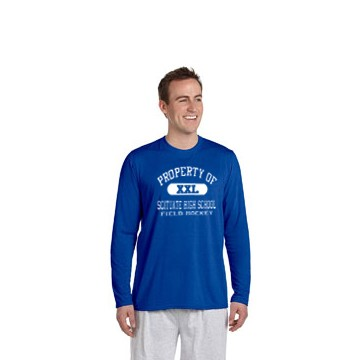 Scituate High Field Hockey Gildan Performance™ 4.5 oz. Long-Sleeve T-Shirt