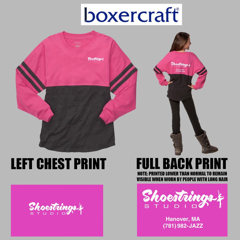 Shoestrings Studio Boxercraft PomPom Jersey, Youth
