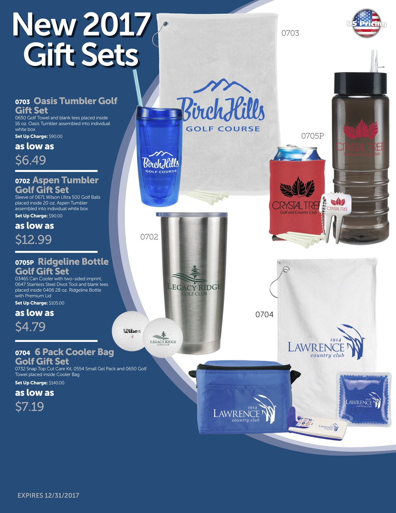 2017 Golf Gift Set Package 1A