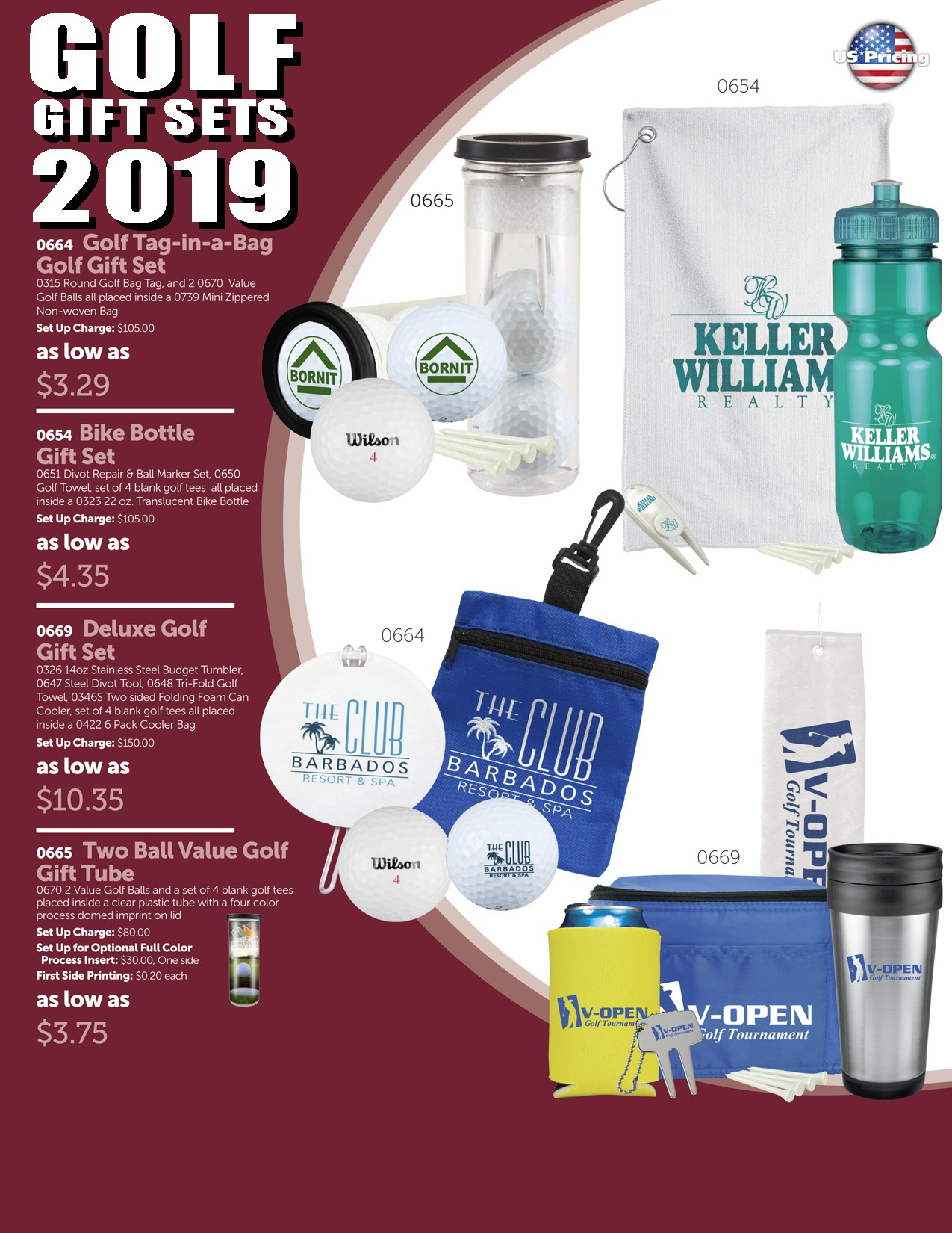 2019 Golf Gift Set Package 1B