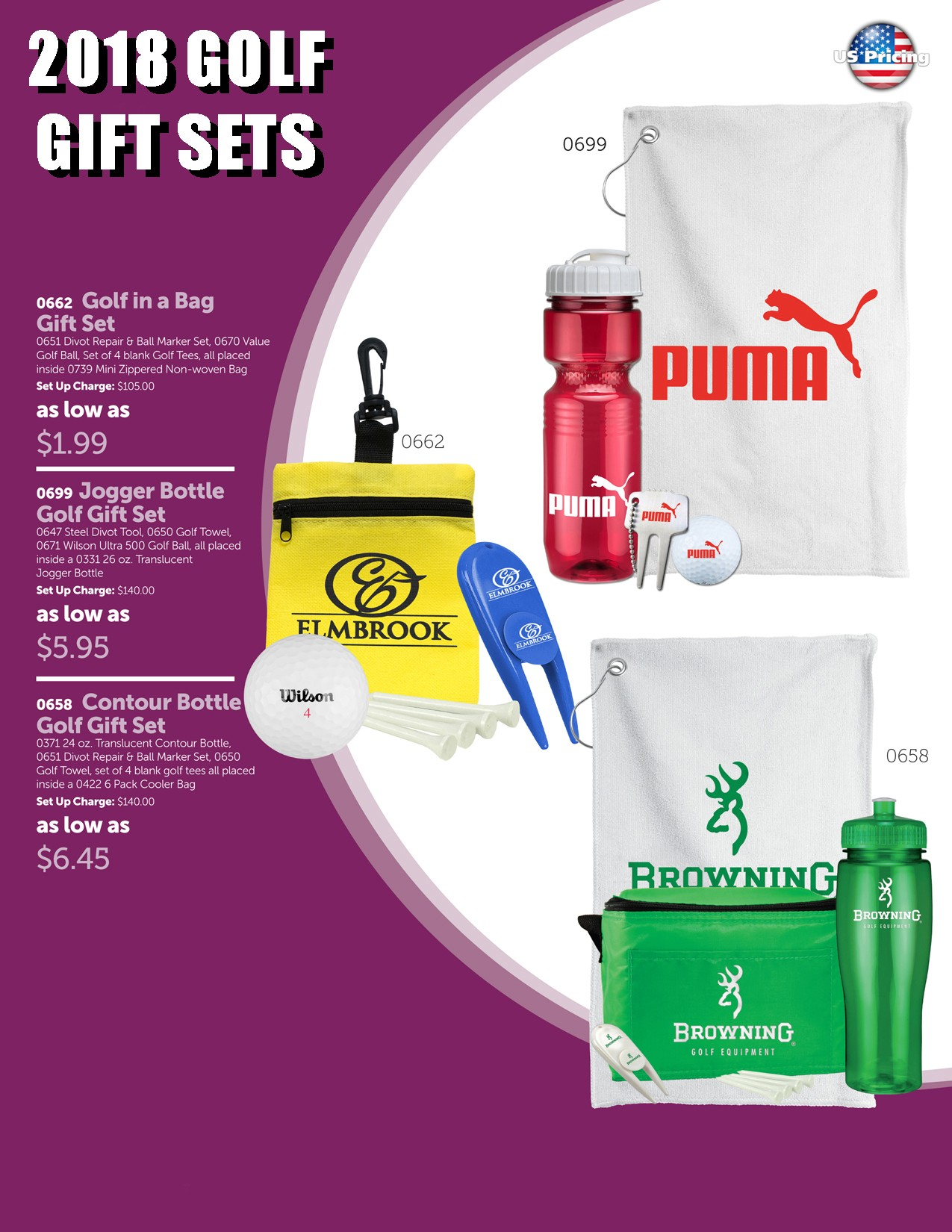 2018 Golf Gift Set Package 2
