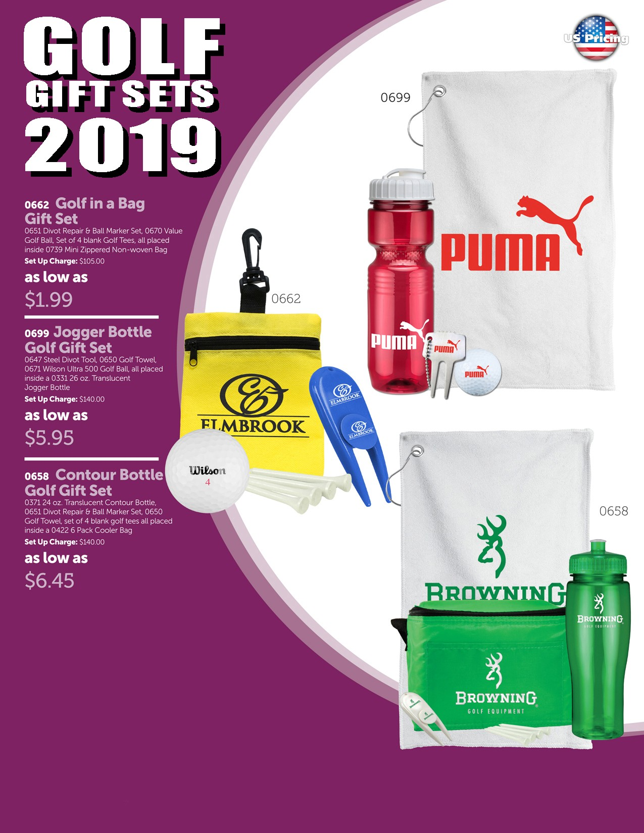 2019 Golf Gift Set Package 2
