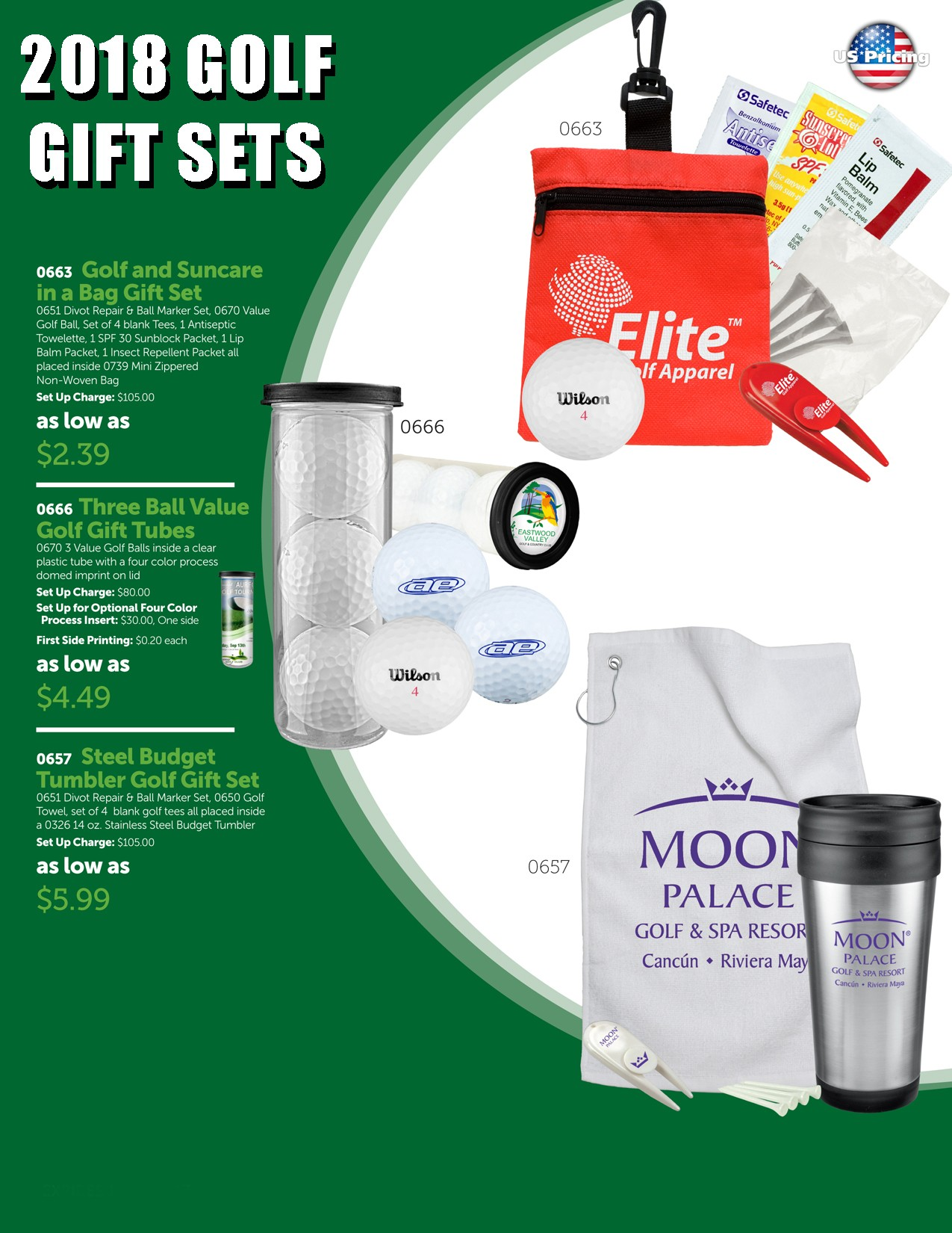 2018 Golf Gift Set Package 3