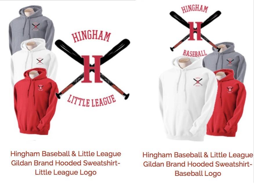 Hingham Baseball & Little League Original Logo