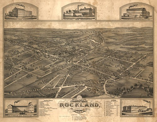 Historic Maps of Rockland