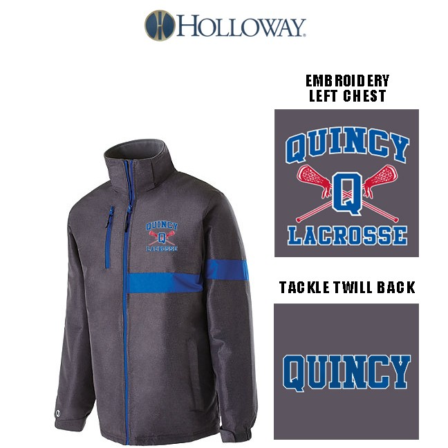 Quincy Lacrosse Holloway Brand Raider Softshell Jacket