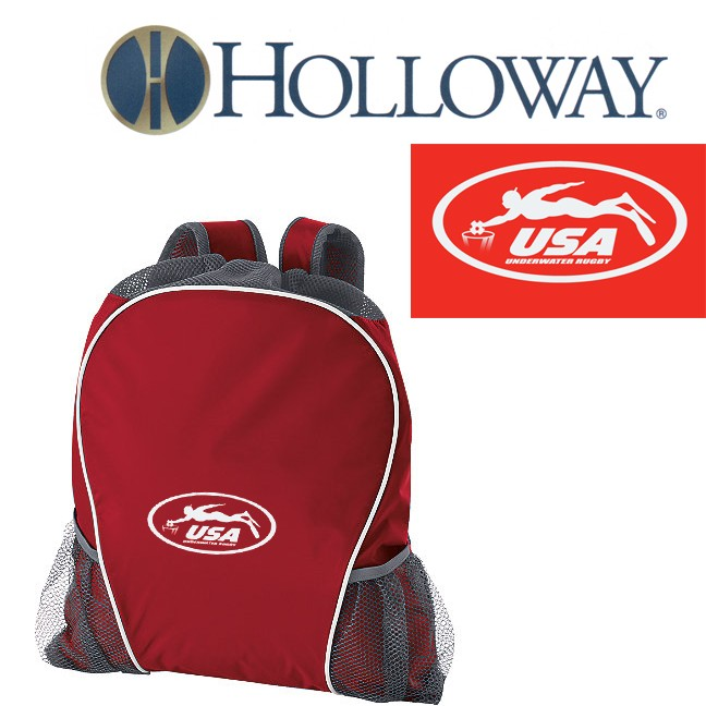 USA Underwater National Rugby Team Holloway Deluxe STYLE 229408RIG BAG