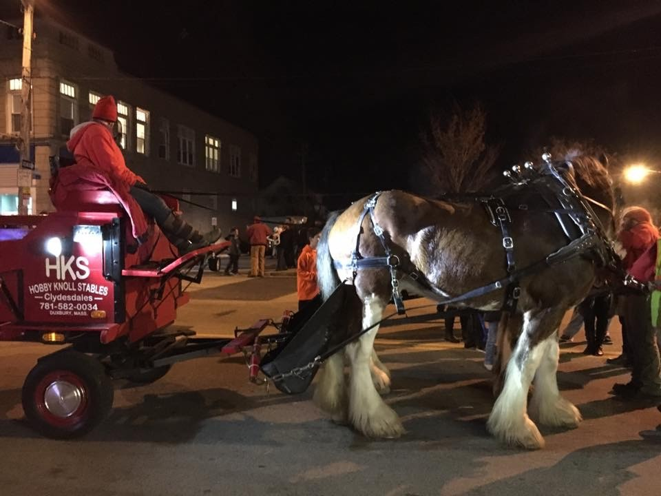Holiday Stroll 2016 Clydesdales