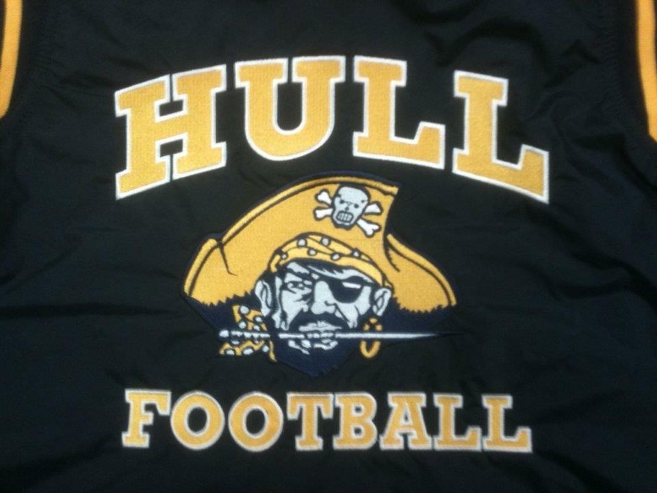 Hull Football Embroidery